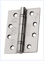 Hinges for fire doors