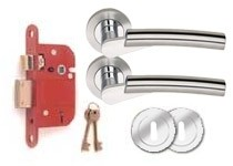 CO155 BS 5 Lever lock set