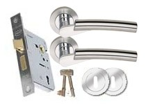 CO155 3 Lever lock set
