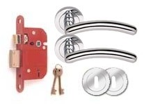 CA155 BS 5 Lever lock set