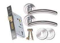 CA155 3 Lever lock set