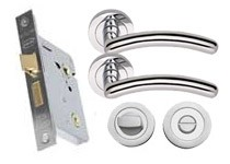 CA155 Bathroom lock set