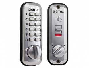 Little Lockey L235 - Digital lock, Satin chrome