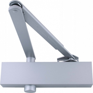 SYNERGY S800 door closer EN2-5 with Silver Slide Plate