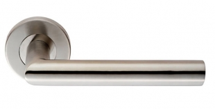 Steelworx CSL1192 Mitred door lever handle