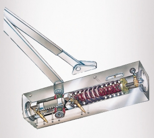 GEZE TS4000 Door closer - innards