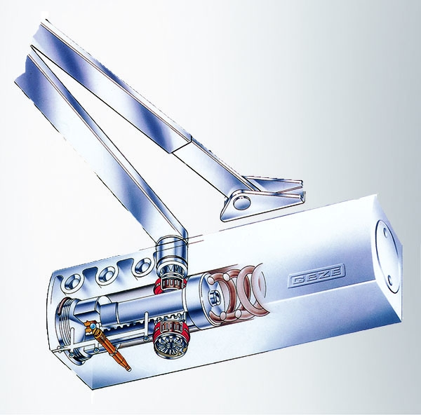 GEZE TS2000V Door closer - Illustration