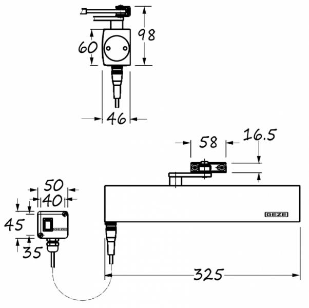GEZE TS4000E hold open door closer | Doorstuff on